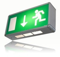 sécurité incendie : issue de secours - éclairage de sécurité