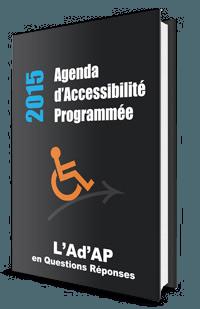 ebook l'Ad'AP et loi accessibilité ERP en questions réponses