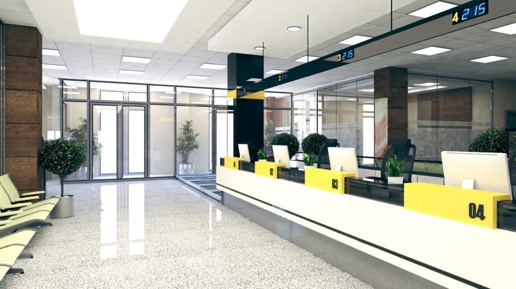 Les ERP type W incluent les banques et administrations.